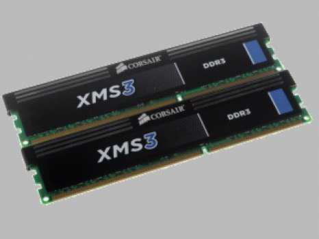 Память DIMM DDR3 4096MBx2 PC12800 1600MHz Corsair XMS3 9-9-9-24 XMP Retail