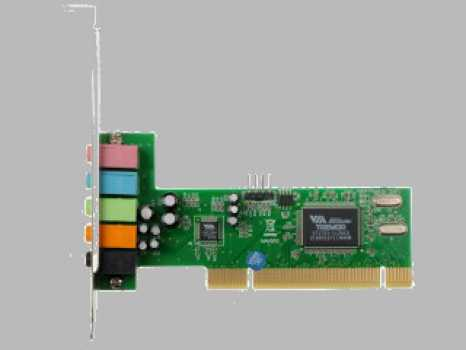 Звуковая карта C-Media 8738 (LX/MX) / VIA Tremor 81585 5.1-Channel PCI